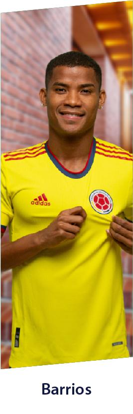 Wilmar Barrios camiseta Colombia adidas, productos camiseta james colombia y mucho más